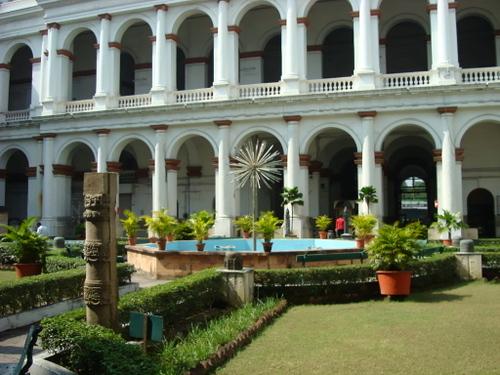 インド博物館 中庭