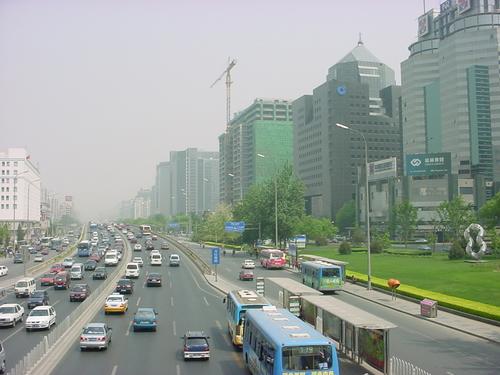 5月の北京市内の様子(3)