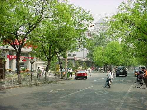 5月の北京市内の様子(1)