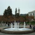 UCバークレー キャンパス内の噴水