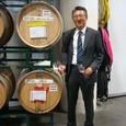 私たちのチームのワイン樽