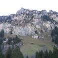 ティトリス山へ向かう途中の眺望