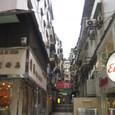 マカオ 旧市街の小道