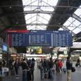 チューリッヒの駅