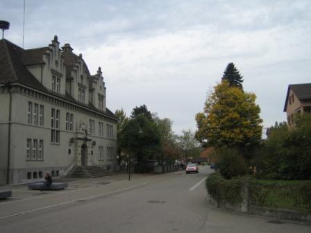ウスター市内の家